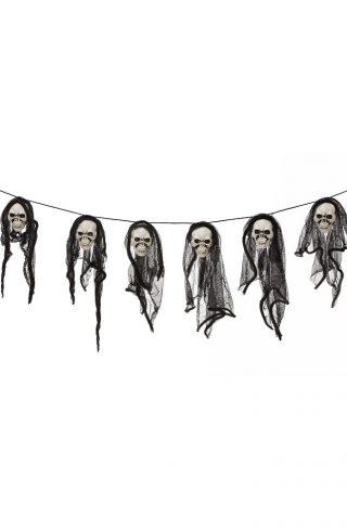 Halloween Skull Garland - 150 cm (96087)