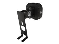 Hama - Veggmontering for høyttaler(e) (Easy-Fix) - plastikk, metall - svart - for Sonos PLAY:1