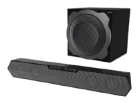 Hama uRage SoundZbar 2.1 Unleashed - Lydplankesystem - for PC - trådløs - Bluetooth, NFC - 100 watt (Total) - svart