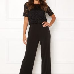 Happy Holly Blanche occasion jumpsuit Black 40/42