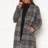 Happy Holly Corinne checked coat Checked 36/38