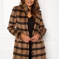 Happy Holly Harper coat Checked 50
