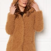 Happy Holly Jenny fur coat Camel 40/42