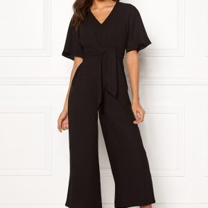 Happy Holly Michelle Jumpsuit Black 48/50
