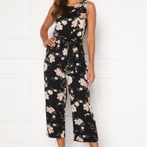 Happy Holly Mollie jumpsuit Black / Patterned 40/42