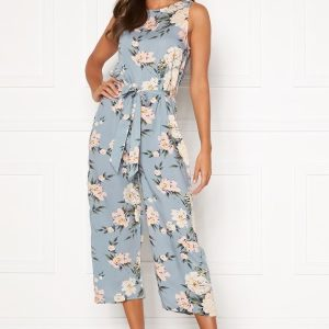 Happy Holly Mollie jumpsuit Light blue / Patterned 52/54