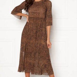 Happy Holly Mønstret kjole Lina Leopard