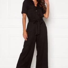 Happy Holly Sarah utility jumpsuit Black 52/54