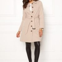 Happy Holly Scarlett coat Light beige 48/50