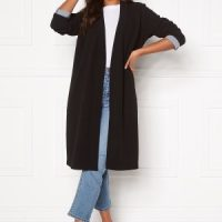 Happy Holly Stefanie tricot coat Black 44/46