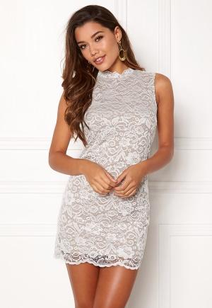 Happy Holly Vienna lace dress White / Mole 44/46L