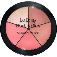 IsaDora Blush & Glow Draping Wheel, 18 g IsaDora Highlighter