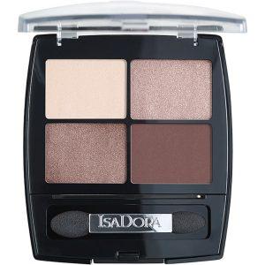 IsaDora Eyeshadow Quartet, 5 g IsaDora Øyenskygge