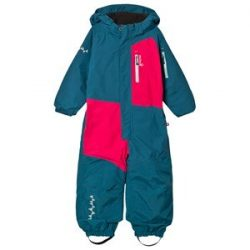 Isbjörn Of Sweden Halfpipe Winter Jumpsuit Petrol 104 cm (3-4 år)