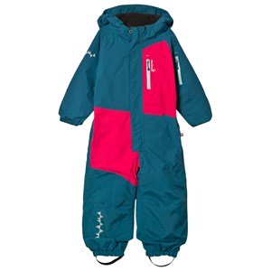 Isbjörn Of Sweden Halfpipe Winter Jumpsuit Petrol 110 cm (4-5 år)