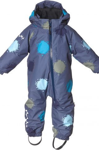Isbjörn Toddler Parkdress, Denim Globe 86
