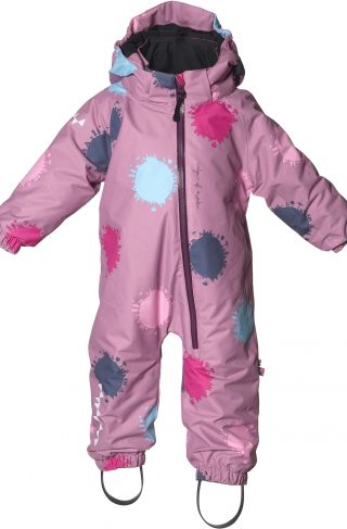 Isbjörn Toddler Parkdress, Dusty Pink Globe 74