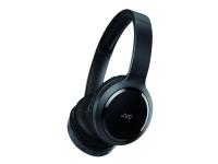 JVC HA-S80BN - Hodetelefoner med mikrofon - full størrelse - Bluetooth - trådløs - aktiv støydemping - 3,5 mm jakk - svart