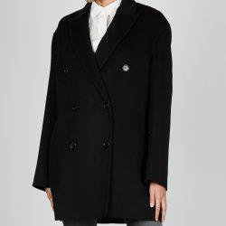 Joseph Coat Clavel Dbl Face Cashmere 36