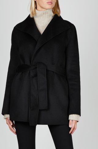 Joseph Coat Lima Short-Dble Face Cash 038