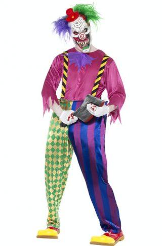 Killer Clown Kostyme Large