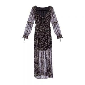 Kimi patterned dress