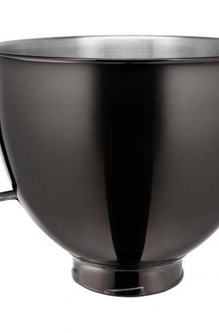 KitchenAid KitchenAid Rustfri Skål, Radiant Black 4,8L