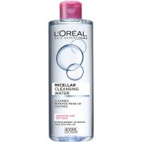L'Oréal Paris Micellar Cleansing Water Sensitive/Dry Skin, 400 ml L'Oréal Paris Sminkefjerner