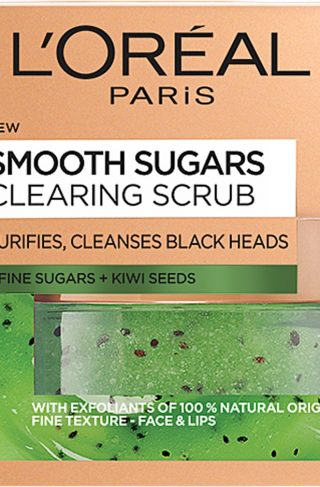 L'Oréal Paris Smooth Sugar Clearing Scrub, L'Oréal Paris Ansiktspeeling