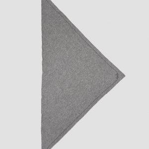 Lala Berlin Cashmere Scarf Trinagle Solid Logo M