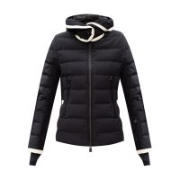 'Lamoura' quilted down jacket