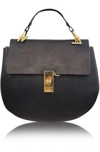 Chloé 'Drew' perforated shoulder bag | Chloe purses, Bags