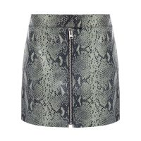 Lena leather skirt