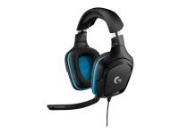 Logitech Gaming Headset G432 - Hodesett - 7,1-kanals - full størrelse - kablet - USB, 3,5 mm jakk - svart