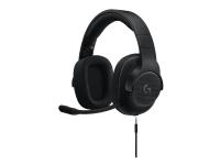Logitech Gaming Headset G433 - Hodesett - 7,1-kanals - full størrelse - kablet - svart