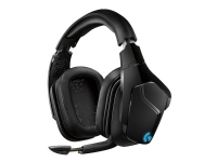 Logitech Gaming Headset G935 - Hodesett - 7,1-kanals - full størrelse - 2,4 GHz - trådløs - 3,5 mm jakk - svart, blå
