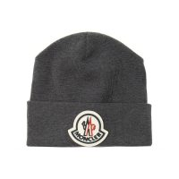 Logo-patched hat