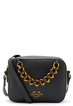 Love Moschino New Chain Heart Bag 000 Black One size