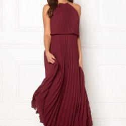 Make Way Leilani maxi dress Wine-red 34