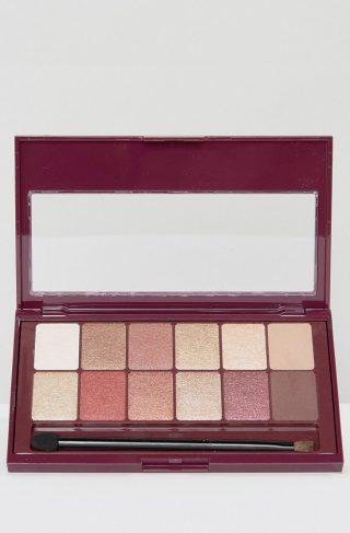 Maybelline The Burgundy Bar Eyeshadow Palette-Multi