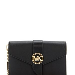 Michael Michael Kors Wallet on Chain Black One size