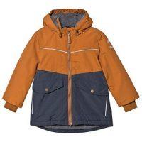 Mikk-Line Nylon Jakke Leather Brown 140 cm (9-10 år)