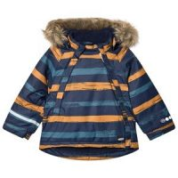 Minymo Herringbone Winter Jacket Pumpkin Spice 104 cm (3-4 år)