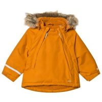Minymo Herringbone Winter Jacket Pumpkin Spice 98 cm (2-3 år)