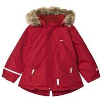 Minymo Tussor Solid Winter Jacket Rio Red 140 cm (9-10 år)