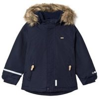 Minymo Tussor Winter Jacket Solid Navy 98 cm (2-3 år)