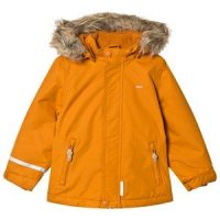 Minymo Tussor Winter Jacket Solid Pumpkin Spi 140 cm (9-10 år)