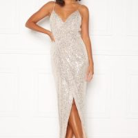 Moments New York Charlotte Sequin Gown Gold 34