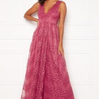 Moments New York Ella Lace Gown Raspberry red 40