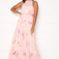 Moments New York Lavender Floral Gown Floral 34